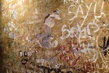 Writings on the wall / Some interesting walls