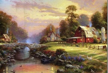 Thomas Kinkade / by Gail Peters