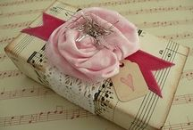 Wrap It Up / Fun, funky, useful and beautiful gift wrap ideas you can do yourself.