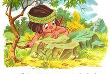 indios infantil