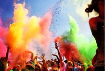 Color Throw  / The Graffiti Run - The Colorful 5k!