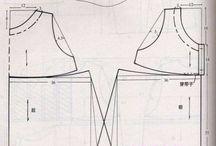 построение выкройки бохо платья