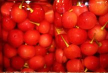 Mes petites réserves pour l'hiver..... / Conserves, fruits à l'eau de vie, champignons séchés,
