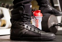 Military influenced gym sneakers / Military influenced gym sneakers