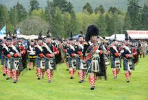 Highland Games in Perthshire