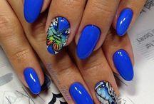 Ногти бабочки