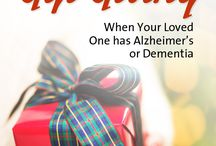 Holidays / Gift giving ideas and holiday crafts for your loved one with Alzheimer's or dementia.