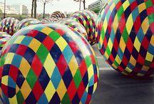 sphere sculptures by Vassiliki (b.1960)