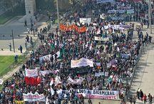 Marcha Nacional por la Educación 14/05/15 / Jueves 14 de mayo, Santiago. Fotografías: Alejandra Fuenzalida.