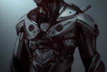 Robots ,game,comic arts