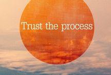 Life Lesson: Trust, Surrender,  Intimacy