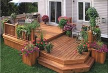 Two Tiered Decks / Two Tiered Deck Designs