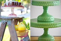 Cake Pedestals and Dessert Stands / by Sweet Fix