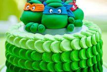 Gedecoreerde taarten
