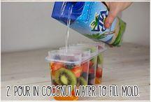 Alimentação saudável / Picolé de frutas