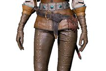 Ciri The Witcher 3 Wild Hunt Leather Costume / you can get your hands on the new Leather Costume worn by a character Ciri in the game Witcher 3 The Wild Hunt.