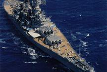 MAQUETTE USS New Jersey BB-62