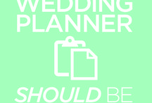 | wedding planner | / by Gabbie Plessner