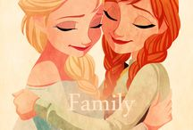 Frozen-Elsa and Anna