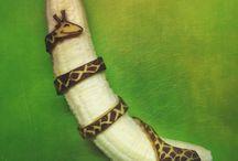 Arte con bananas