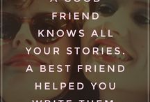 Wise words - friendship / by Jamie Barnwell