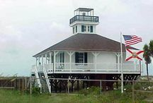 Lighthouses and Forts Are My Kind of Places / Who wants to visit Florida and spend it in a museum when you can go to a beach with a fort or a lighthouse?