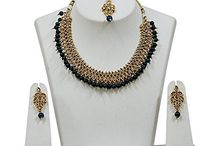 Kundan Ethnic Wedding Bridal Necklace Set