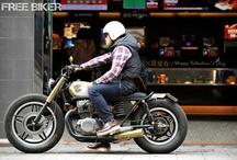 Motorcycles / Two wheels. No more, no less.