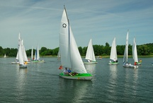 Na wodzie / W granicach Olsztyna jest 15 jezior.