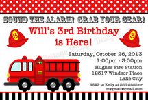 Fire Station birthday party - april 18
