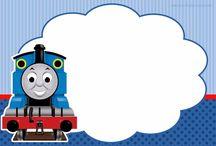 festa trem Thomas