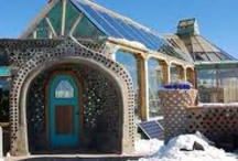 earthships / homes made from recycled materials