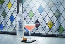 """Snow Queen Martini Masters 2016 / Snow Queen Vodka's 4th Martini Masters at The Club at the Ivy. Competitors were to present a Martini with a french twist in the theme of """"What if there was Snow Queen Vodka in Versailles"""" #Recipes #Martini #Cocktails"""