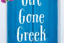 """""""Girl Gone Greek"""" - my debut novel / Rachel, a free-spirited and single forty-something English teacher, has discovered there's more to life than marriage, children and living up to family expectations. Girl Gone Greek is a novel about an Englishwoman's experiences in rural Greece early in the millennium. Set against the breathtaking background of the Greek countryside and Athens, Rachel meets a colourful cast of eccentric characters, plants her feet deeply into the local soil and ultimately finds her true love – Greece."""