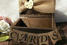 Thank you card boxes / by Julie Barker