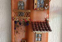 telha decoradas