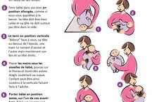 Bébé postures gestes