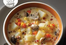 Soups / by Tina Scott