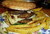 burgers / by Glenda Ernst