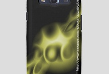 Samsung Galaxy 3 Case / Samsung Galaxy III Phone Case Featuring The Exclusive Abstract Art Of Douglas J. Moore. / by Douglas J Moore