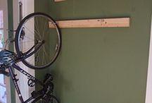 держалка велосипеда