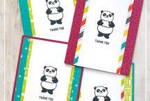 Stampin Up - Party Pandas