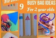 busy bag 2 year old