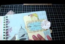 Mini Albums and altered frames