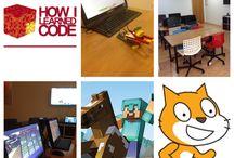 SCRATCH HOW I LEARNED CODE / Aprende a programar jugando con SCRATCH Scratch es un lenguaje de programación y una comunidad en línea donde los niños pueden programar y compartir medios interactivos historias, juegos y animaciones con personas de todo el mundo. Cuando los niños crean con Scratch, aprenden a pensar creativamente, trabajar colaborativamente, y razonar sistemáticamente. Scratch está diseñado y mantenido por el grupo Lifelong Kindergarten del Laboratorio de Medios del MIT.