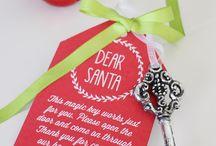 Santa key & camera
