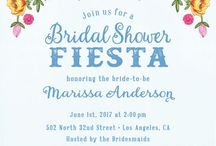 Fiesta theme bridal shower