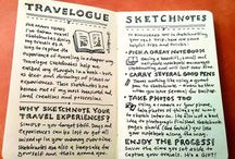 travel journals / by Maggie McClune