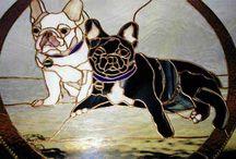 VITRAUX DOG ANGLAIS