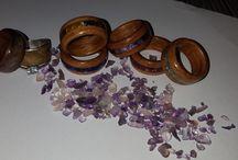 Hobby .Wood Wedding Ring